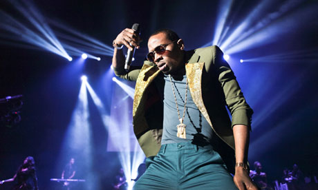 D'Banj performs at Hammersmith Apollo, London.