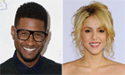 Usher and Shakira