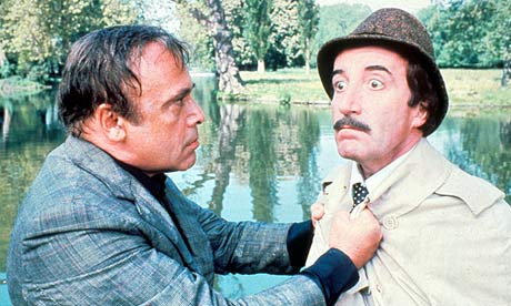 Herbert Lom in The Pink Panther Strikes Again