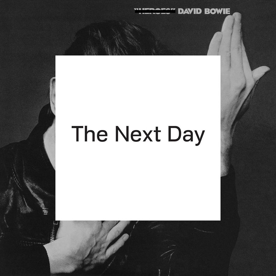 Cover story … David Bowie's The Next Day