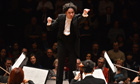 Gustavo Dudamel conducts the LA Philharmonic, march 2013