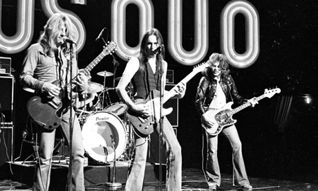 Status Quo: 'We're not musicians — we're players!'