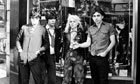 Blondie in 1977, with Chris Stein and Deborah Harry on right