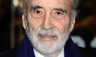 Sir Christopher Lee has completed his second metal album.