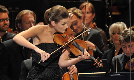 Janine Jansen performs at the Proms, August 2013