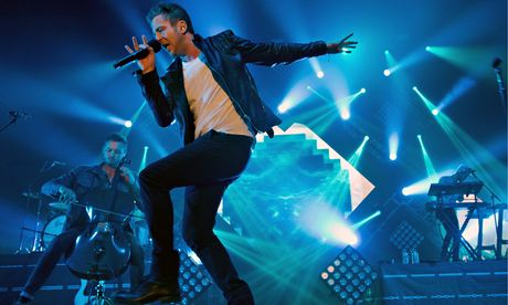 Ryan Tedder performs with OneRepublic in Munich.