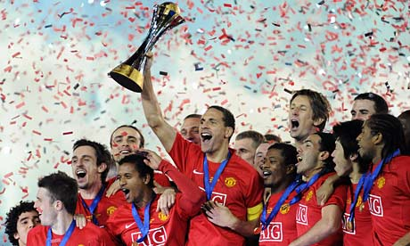 Manchester United win the club world cup
