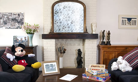 Gregg Wallace's living room