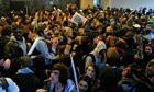 student demonstrators
