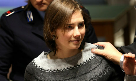 amanda knox trial evidence. Amanda Knox arrives in
