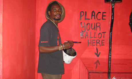 Artist Owen Maseko