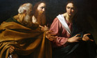 Caravaggio's 'The Calling of Saints Peter and Andrew'