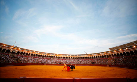 Spanish bullfighter Manuel Jesus