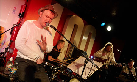 Edwyn Collins performing live at the 100 Club, London