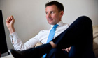 Jeremy Hunt culture secretary