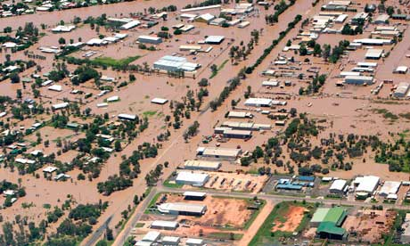 australian floods The Queensland town of Emerald: state treasurer Andrew