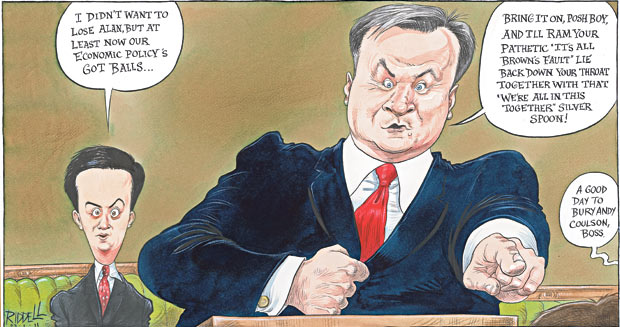 Chris Riddell 23 January 2011