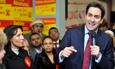Ed Miliband in Oldham