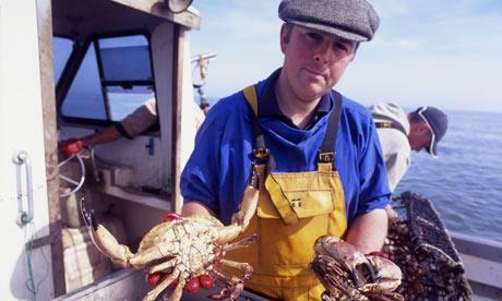 Cromer crabs, north Norfolk.