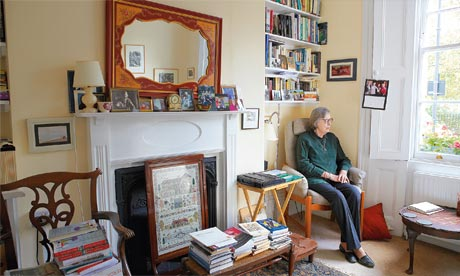 Penelope Lively at home