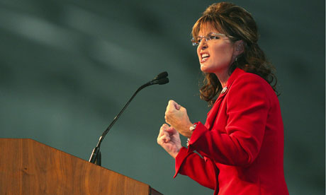 Sarah Palin speaking in Bakersfield