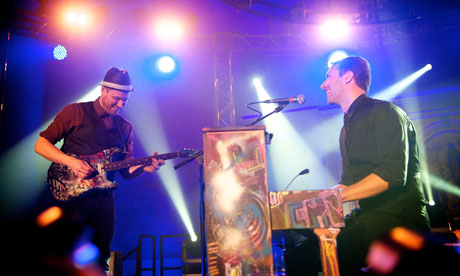 Mencap Music Presents Little Noise Sessions: Chris Martin / Jonny Buckland