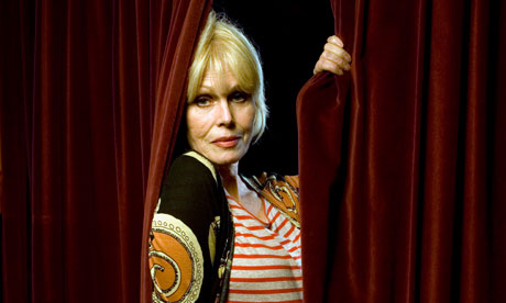 Joanna Lumley at the Dominion Theatre