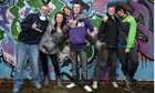 Local teenagers at Heathfield youth centre