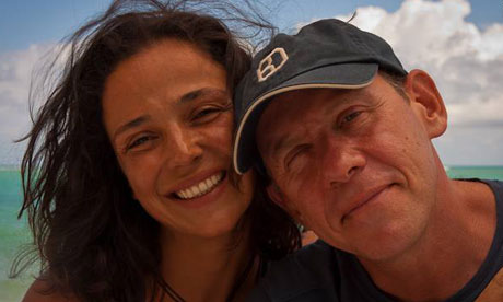 Ricardo Semler e sua esposa Fernanda