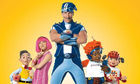 LazyTown and Sportacus join drive to improve children's health