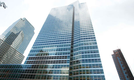 Goldman Sachs building in New York