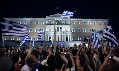 Treasury urges British banks to take big losses to help Greece avoid meltdown