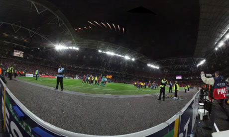 Wembley stadium panoramic