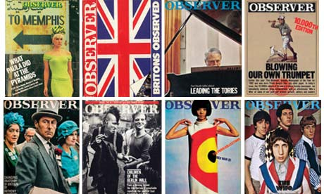 Observer Magazine covers