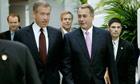 Boehner, House GOP Members Meet On Debt Ceiling