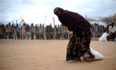 Somalia refugee drought