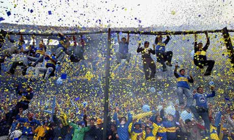 Boca Juniors fans(FILES) Boca Junio