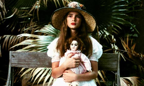 Brooke Shields, aged 12, in Pretty Baby