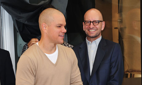 Steven Soderbergh and Matt Damon