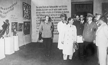Hitler Degenerate Art
