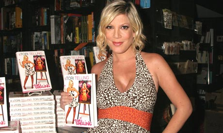 Tori Spelling Book Signing Benefit- West Hollywood