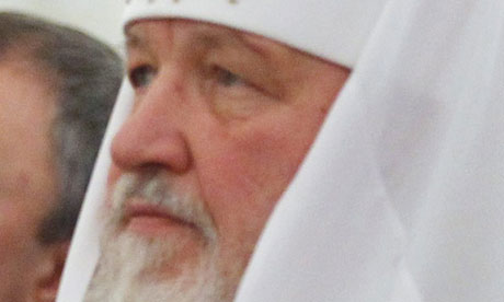 Patriarch Kirill, head of the Russian Orthodox Church