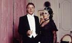 ACTRESS ELIZABETH TAYLOR AND HUSBAND AND ACTOR RICHARD BURTON
