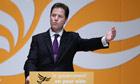 Nick Clegg spring conference