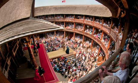 The Globe theatre