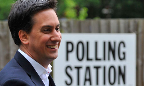 Labour party opposition leader Ed Miliband