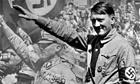 Hitler 2at Nuremburg rally.