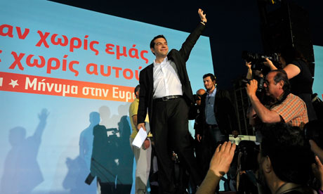 Left Coalition Party leader, Alexis Tsip