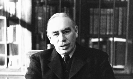 Keynes in His Bloomsbury Study, 1940