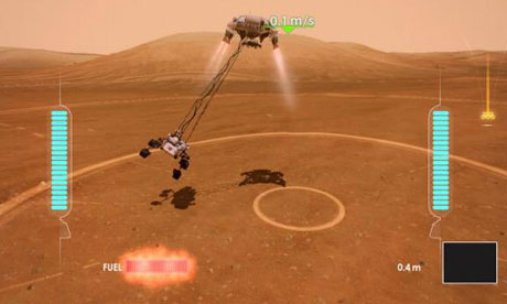 Mars Rover Simulation